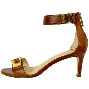 KALIOPE Louise et Cie Brown Dress Turnlock Sandal